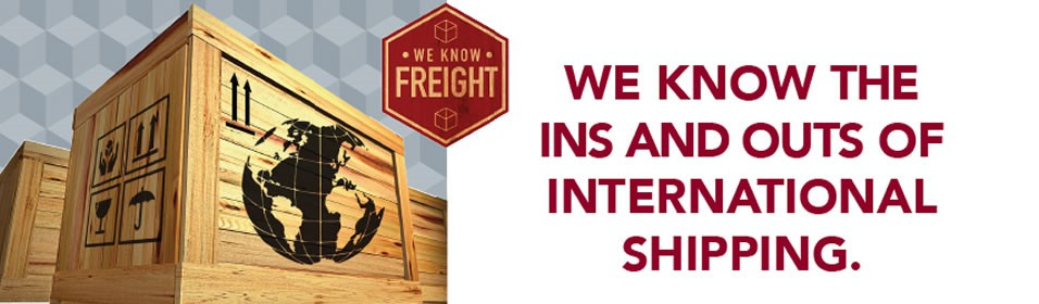 We Ship International Freight